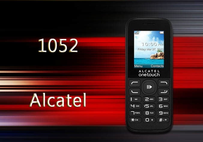 Alcatel 1052 Mobile Phone