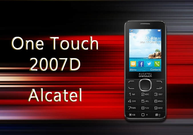Alcatel One Touch 2007D Dual SIM