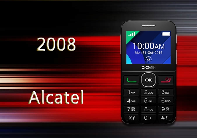 Alcatel 2008 Mobile Phone