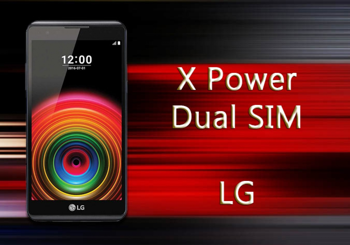 LG X Power Dual SIM Mobile Phone