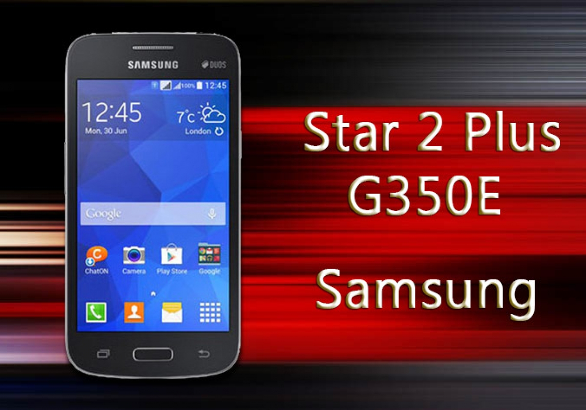 Samsung Galaxy Star 2 Plus Duos G350E