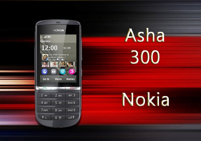 Nokia Asha 300 Mobile Phone