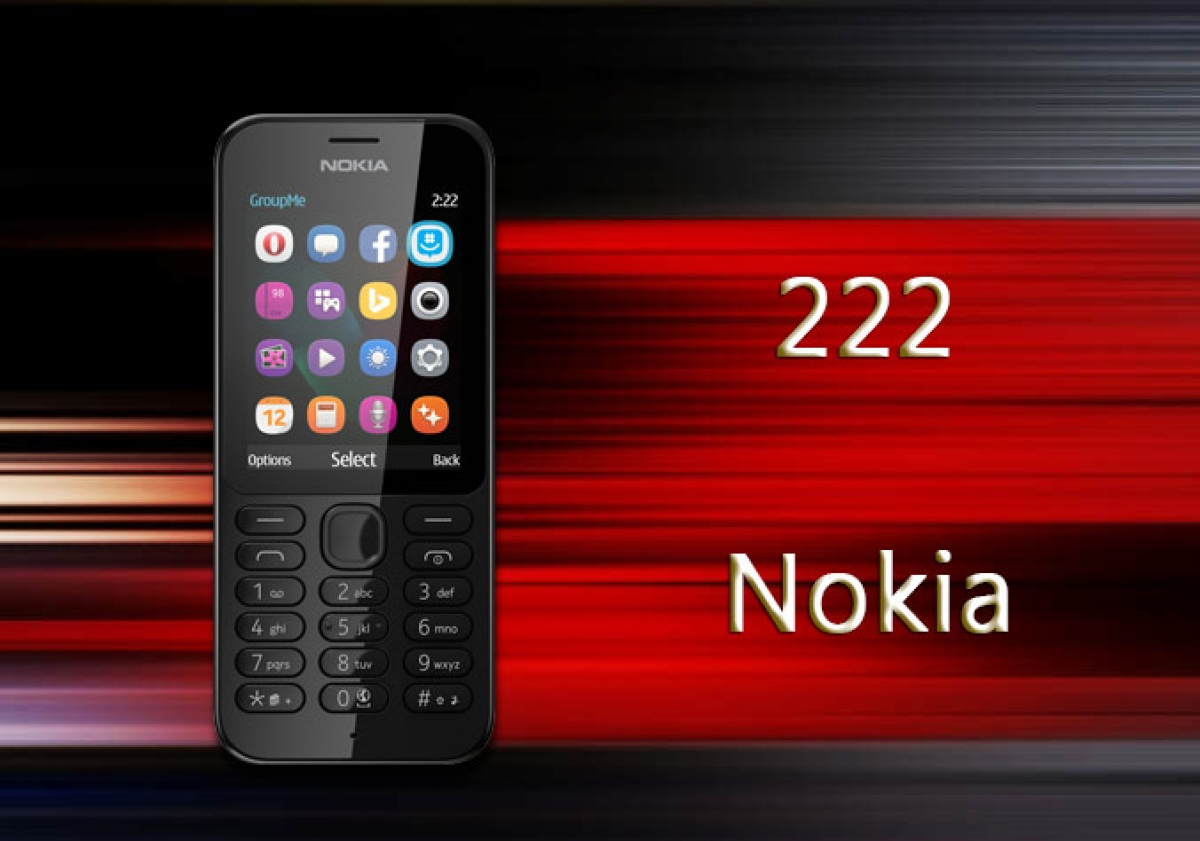 Nokia 222 Mobile Phone
